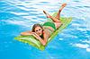 Надувной пляжный матрас Intex 59718, зеленый, 183 х 69 см, фото 6