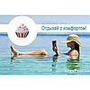 Надувной пляжный матрас Intex 58770 «Кекс», 142 х 135 см, фото 5