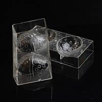 Форма для шоколада - Подарочные яйца с бантом  3 D.