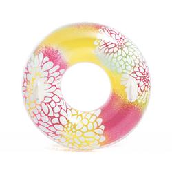 Надувной круг для плавания Intex 58263, розовый, 97 см, с держателями для рук