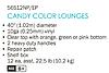 Надувное кресло-круг для плавания Intex 58883, серое, 119 см, с держателями для рук, фото 5
