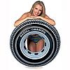 Надувной круг для плавания Intex 59252 «Шина», «Покрышка», 91 см, фото 3