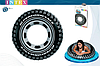 Надувной круг для плавания Intex 59252 «Шина», «Покрышка», 91 см, фото 4