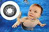 Надувной круг для плавания Intex 59252 «Шина», «Покрышка», 91 см, фото 6