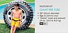 Надувной круг для плавания Intex 59252 «Шина», «Покрышка», 91 см, фото 7