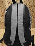 (44*30-большое)Рюкзак спортивный NIKE Мессенджер 300d городской опт, фото 4