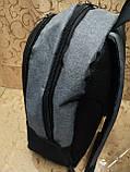 (44*30-большое)Рюкзак спортивный NIKE Мессенджер 300d городской опт, фото 3