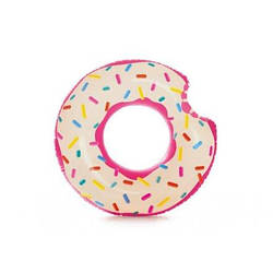 Надувной круг для плавания «Пончик» Intex 56265, 107 х 99 см