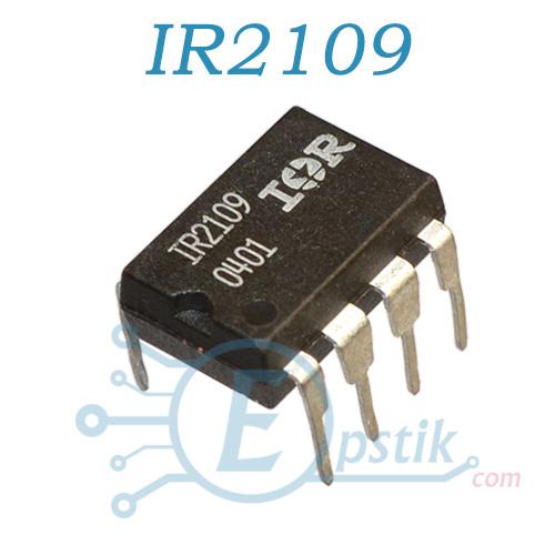 IR2109PBF, ШИМ контроллер, 600В, DIP8