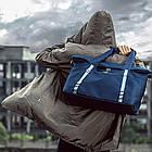 Дорожная сумка синяя, фото 8