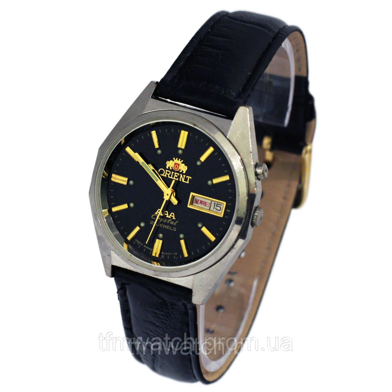650fbb97 Часы Ориент с автоподзаводом Япония - Магазин старинных, винтажных и  антикварных часов TFMwatch в России