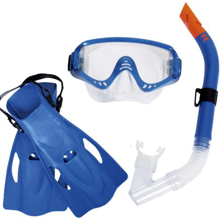 Набор для плавания Bestway 25020, EUR (41-46), синий