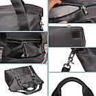 Дорожная сумка синяя, фото 6