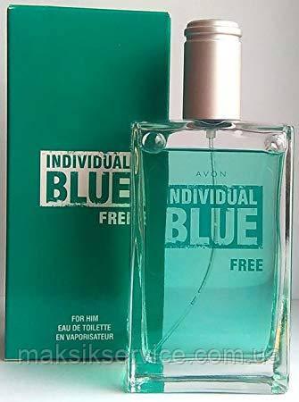 Мужская туалетная вода Individual Blue Free Avon