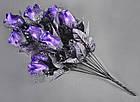 Букет темная роза NM-46/12 (12 шт./ уп.) Искусственные цветы оптом, фото 6