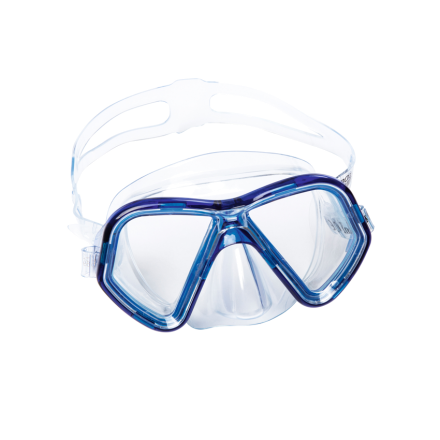 Маска для плавания Bestway 22049, синяя, от 7 лет