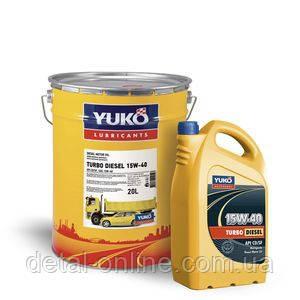 Масло моторное YUKO TURBO DIESEL 15W-40 API CD/SF(17,5кг/20л), фото 2