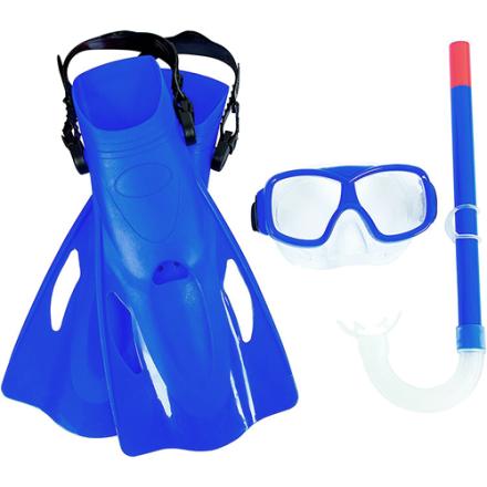 Набор для плавания Bestway 25019, EUR (37-41), синий
