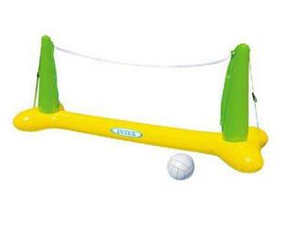 Игра «Волейбол» на воде Intex 56508, оранжевый, 239 х 91 х 64 см