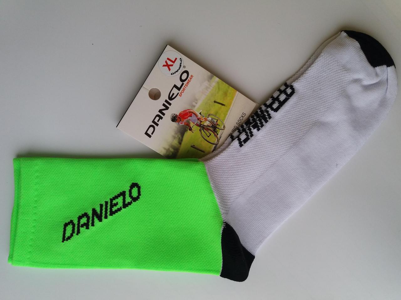 Носки велосипедные Danielo COMPRI FLUO