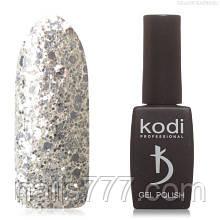Гель лак Kodi  №40 SH, с блёстками, 8мл