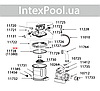 Клапан выпускной Intex 10725 для комби-картриджного 28674, фото 3