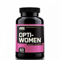 Opti-Women 60caps, Optimum Nutrition|женские витамины купить, американские витамины