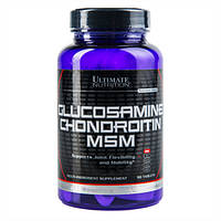 Хондропротектор Glucosamine & Chondroitin MSM 90 tab, Ultimate Nutrition|купить витамины для суставов
