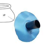 Латка бассейна с хомутом Intex 22299 из оригинальной чаши Intex
