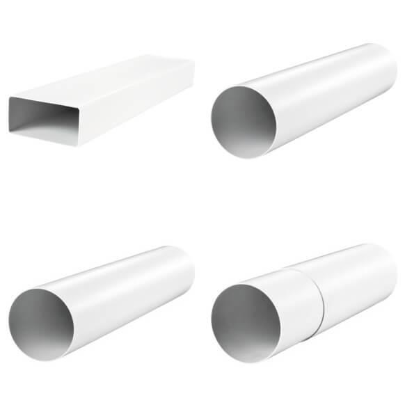 Воздуховоды пластиковые для вентиляции