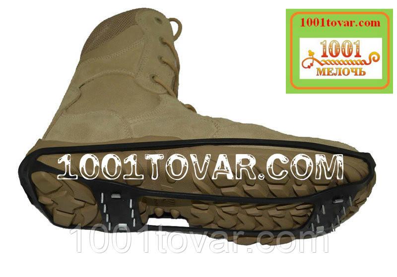 Универсальные ледоходы на 28 шипов, ледоступы, антискользители, шипы на обувь, размер 35-40