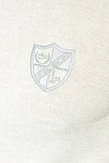 Худи мужское трикотажное, с лого 50PD479-K (Светло-серый меланж), фото 3
