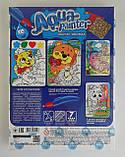 Мозаика Aqua painter Водная раскраска+аппликация Мишка AQP-01-07 Danko-Toys Украина, фото 2