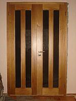 Двери деревянные из массива ясеня или дуба DR4
