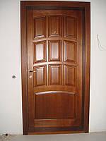 Двери деревянные из массива ясеня или дуба DR6