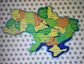 Мапа України. Стенд