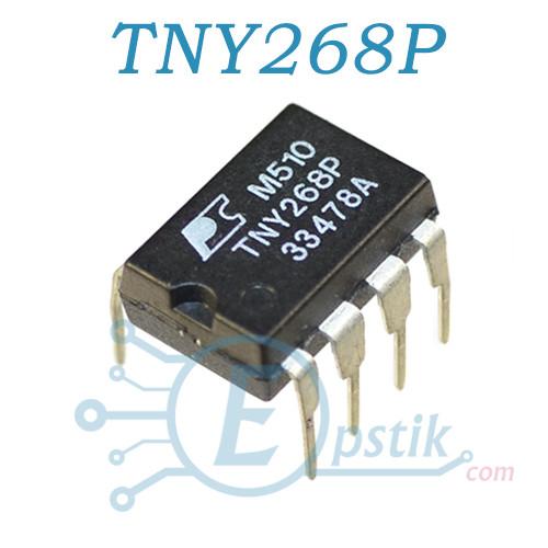 TNY268P, ШИМ контроллер, DIP7