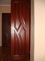 Двери деревянные из массива ясеня или дуба DR12
