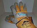 Перчатки влагозащитные и утепленные кожаные MIK TURTUR EL012, фото 2