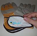 Перчатки влагозащитные и утепленные кожаные MIK TURTUR EL012, фото 3