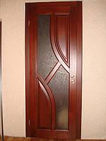 Двери деревянные из массива ясеня или дуба DR13