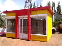 Изготовление и продажа МАФ: торговые киоски, павильоны, дачные домики.Хмельницкий