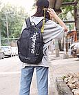 Рюкзак Supreme, Чорний, фото 6