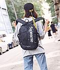 Рюкзак Supreme, Чорний, фото 7