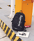 Рюкзак Supreme, Чорний, фото 9
