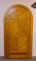 Дверь амбарная из массива ясеня или дуба DR14