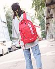 Рюкзак Supreme Червоний, фото 5