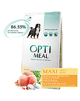 Optimeal Оптимил 4 кг для крупных пород с курицей