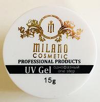 Гель однофазный Milano Clear (прозрачный), 15 гр