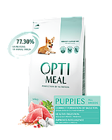 Optimeal Оптимил 4 кг для щенков с индейкой